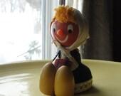 Olga from Bulgaria wooden figurine