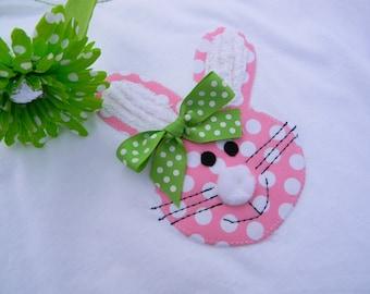 EXCLUSIVE Bunny Rabbit  Applique T Shirt for Children by Bubblebabys