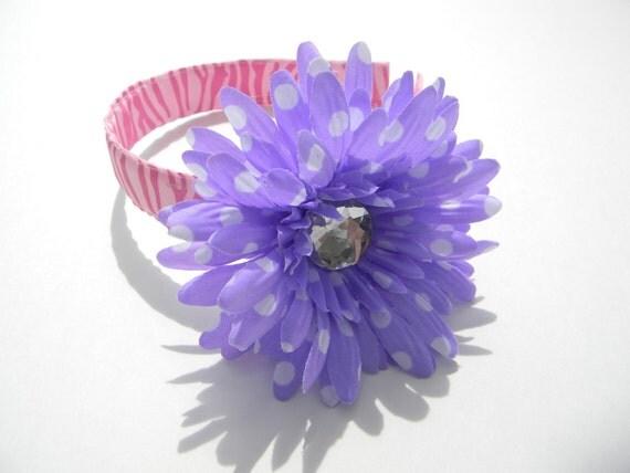 Jeweled Flower HeadBands