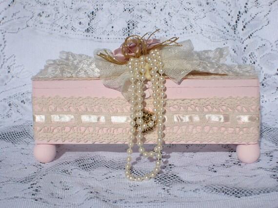 Shabby Chic Jewelry Box
