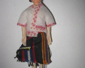 Miniature Dollhouse Doll mom