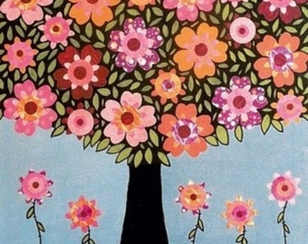 Full of Flowers - Cross stitch pattern pdf format