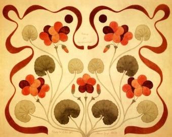 Art Nouveau Designs II - Cross stitch pattern pdf format