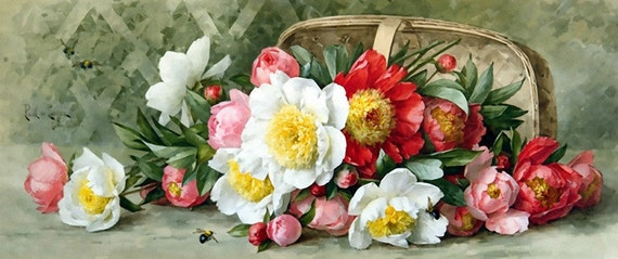 May Flowers - Cross stitch pattern pdf format