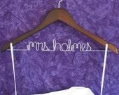 Personalized Wedding Hanger / Bride Hanger