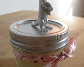 Silver Otter Beeswax Candle
