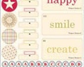 Playful Hodge Podge Stickers from Jenni Bowlin