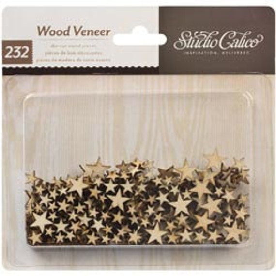 Studio Calico Wood Veneer Tiny Stars