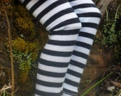 Leggings in Black and White for 18 inch BFC Ink Dolls