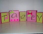 Ellie and Stretch Name Blocks