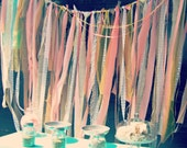 Backdrop Fabric Garland, Customize to match your event