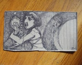 WISH small original ink drawing