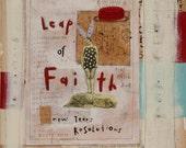 Ahhh Yes... A Leap of Faith.