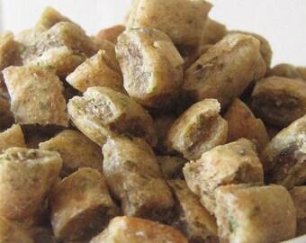 Catnip Cookies Made with Lots of Organic Catnip-Gourmet Cat Treats All Natural - Po's Bag of Bones Bakery