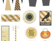 Printable Halloween Goodie Tags
