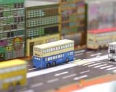 Post Car ( Bus series) ,set of 4 post cards