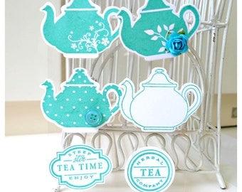 Teapot Embellishment for Scrap booking / card making etc