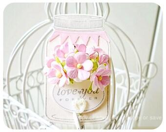 Bottled flower tags