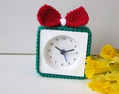 Alarm clock cover, Welsh team colours