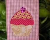 Cupcake Patchwork Quilted iPhone Cellphone Case
