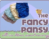 One-Size Pocket Diaper Pattern