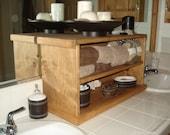 custom counter top cabinet