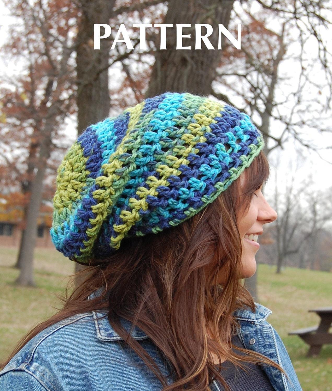Single Crochet Hat Pattern For Beginners : Simple Beginners Crochet Hat