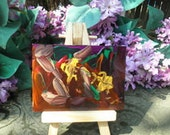 Abstract Aceo original