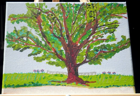 Tree of Life 8x10 Painting