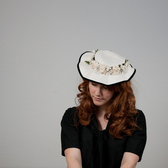 The 1940s Scalloped Picture Hat