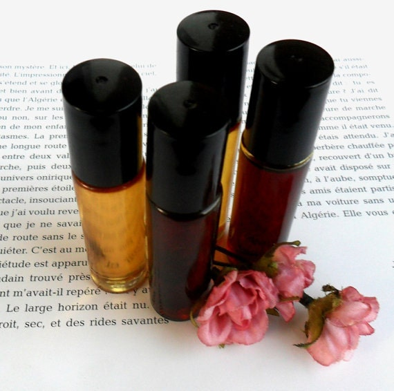 Somali Rose French Perfume Oil 1/3 oz