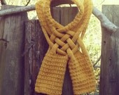 Cowl Scarf - knitting pattern PDF - UNISEX - men woman winter accessory - Instant Download
