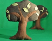 Huggable Tree with leafy accents