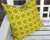 "18"" Braemore Emilio Grasshopper-Pillow Cover SALE"