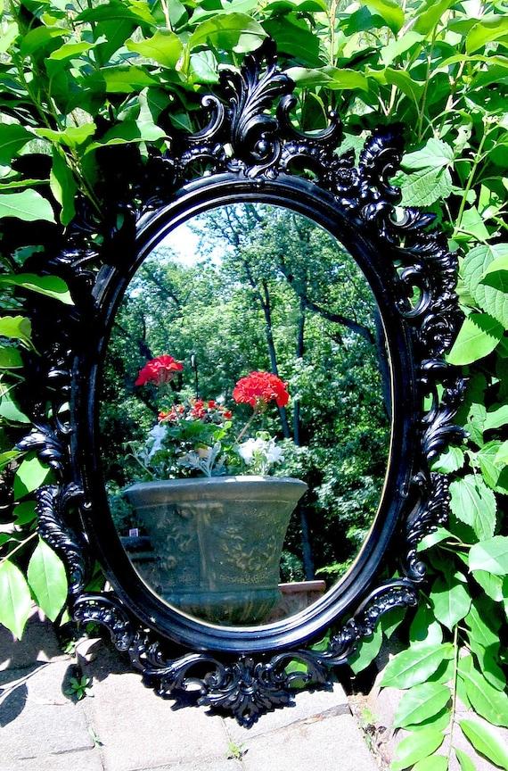 Hollywood Regency Black Mirror