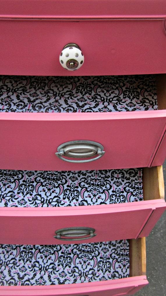 Paris Pink Vintage Dresser
