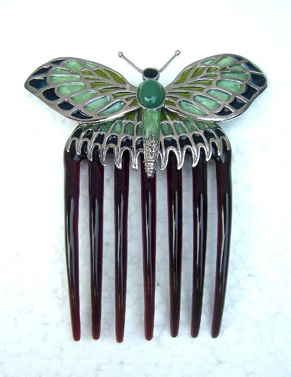 Hair comb Titanic replica butterfly comb hair accessory - FREE WORLDWIDE SHIPPING