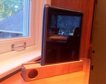 iPad & iPad Mini Acoustic Speaker (cherry)