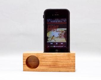 iPhone Mini Acoustic Speaker (cherry)