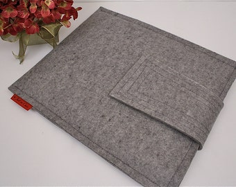 iPad Granite Wool Felt Case