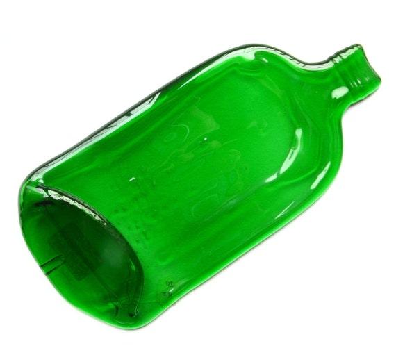 Gordons gin bottle,  melted bottle spoon rest, cheese board