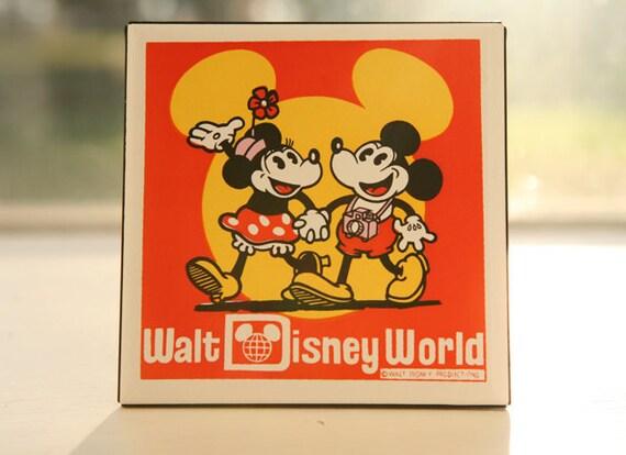 Vintage Walt Disney World Mickey Mouse And By Letslovevintage