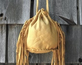 Leather Handmade Native American Indian Medicine Bag