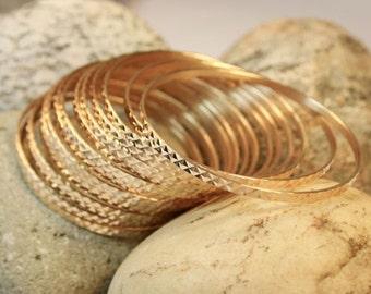 Vintage 18kt gold bangles/ bracelets
