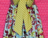 Spring Bouquet Knot Dress 12mo, 18mo, 2t, 3t, 4t, 5, 6