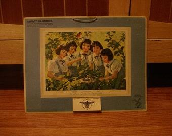 The Dionne quintuplets,1944 Awrey Bakery Calendar
