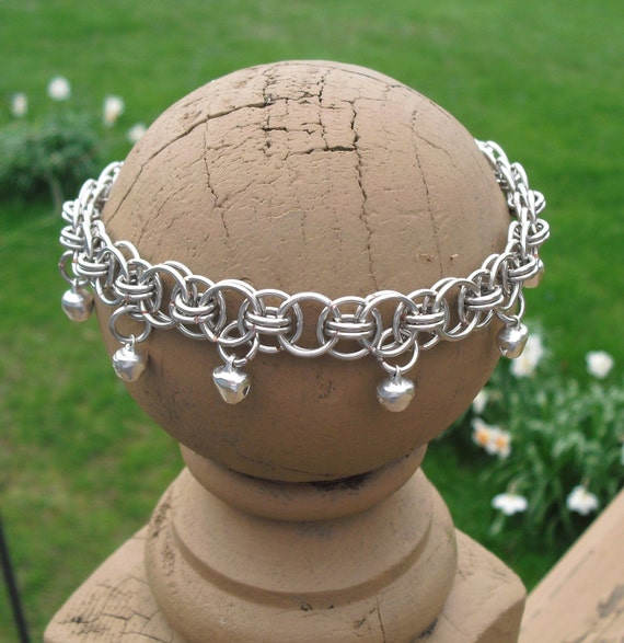 Helm Gypsy Anklet or Bracelet (bells optional)