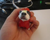 A custom sculpture of your dog or other awesome pet
