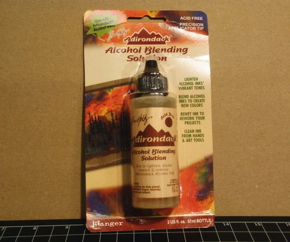 how to make alcohol ink blending solution