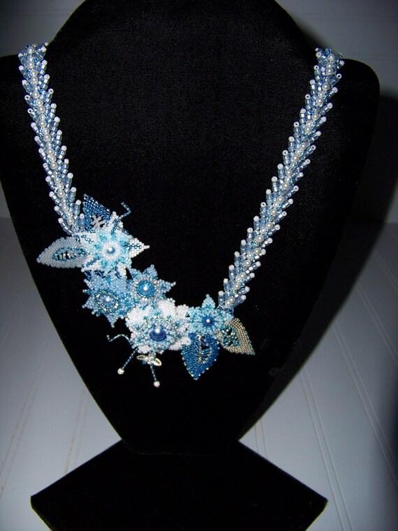 Dress Blues Necklace